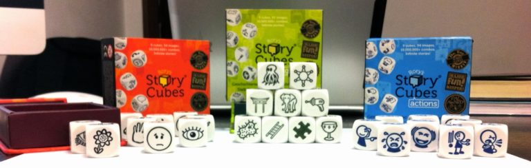 Material interesante: Rory's story cubes